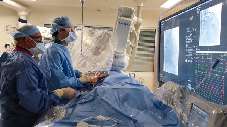 Cardiologie : première mondiale au GHM de Grenoble