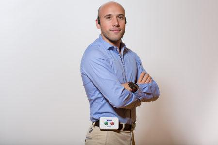 Portrait de Jordan Miron, fondateur et président de Resilient Innovation