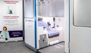 Une cabine médicale connectée en test à La Mutuelle Générale