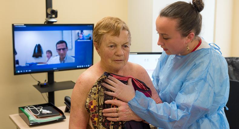 Accès aux soins : plus de 60.000 téléconsultations facturées en un an