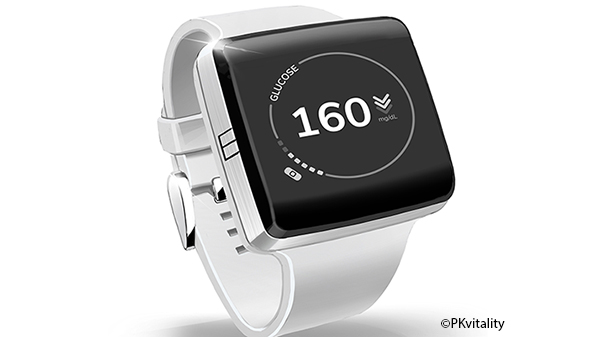 Diabète : une montre connectée pourrait mesurer la glycémie en continu