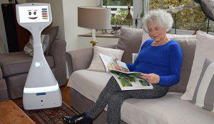 Domirob : des robots de téléprésence sociale au domicile des seniors