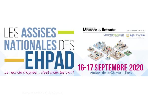 Assises nationales des Ehpad : c'est les 16 et 17 septembre 2020 à Paris