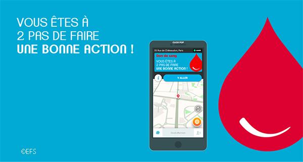 Don du sang : avec Waze, vous êtes à deux pas d'un site de prélèvement