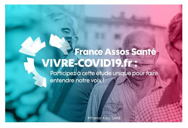 France Assos Santé recherche 10.000 participants pour son étude Vivre-Covid19