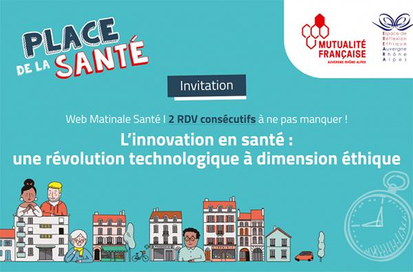 Mutualité Française Auvergne-Rhône-Alpes : 2e webmatinale sur les enjeux éthiques de l'intelligence artificielle en santé